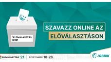 Szeptember 13-án, hétfőn elindult az előregisztráció az online szavazásra